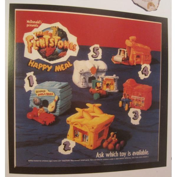 1993年・ハッピーミール・フリントストーン・ぺブルスとディノのトイザラス・おもちゃ屋さんセット【画像19】
