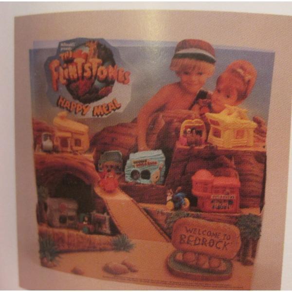 1993年・ハッピーミール・フリントストーン・ぺブルスとディノのトイザラス・おもちゃ屋さんセット【画像20】