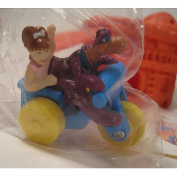 1993年・ハッピーミール・フリントストーン・ぺブルスとディノのトイザラス・おもちゃ屋さんセット【画像3】