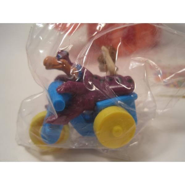 1993年・ハッピーミール・フリントストーン・ぺブルスとディノのトイザラス・おもちゃ屋さんセット【画像5】