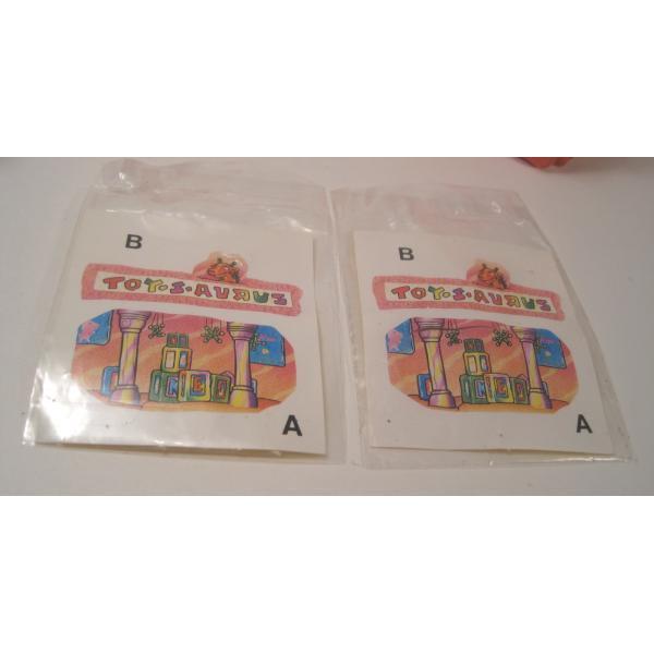 1993年・ハッピーミール・フリントストーン・ぺブルスとディノのトイザラス・おもちゃ屋さんセット【画像6】