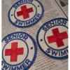オリンピック&スポーツ系 ヴィンテージワッペン・赤十字・Senior Swimmer・ライフガード