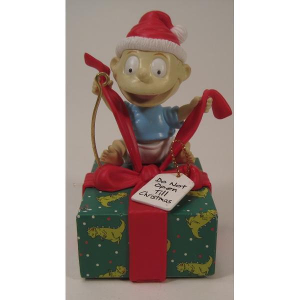 クリスマスオーナメント・ラグラッツ・トミーとプレゼント・1998年【画像2】