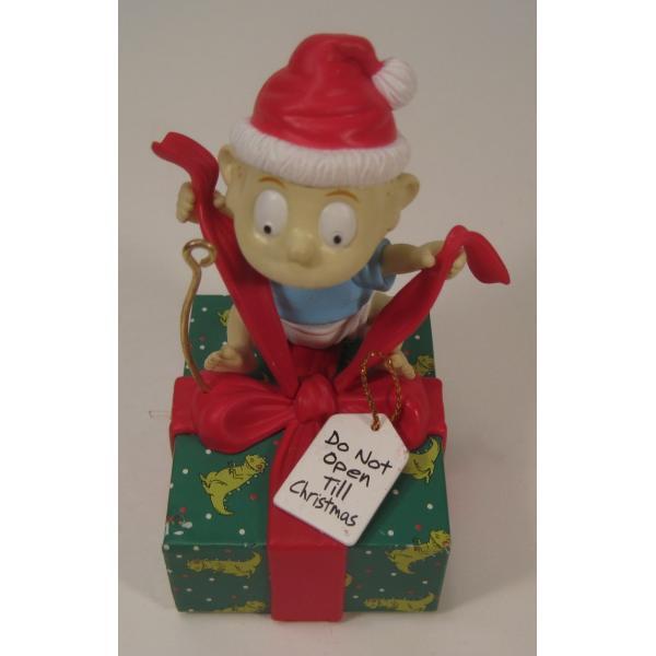クリスマスオーナメント・ラグラッツ・トミーとプレゼント・1998年【画像3】