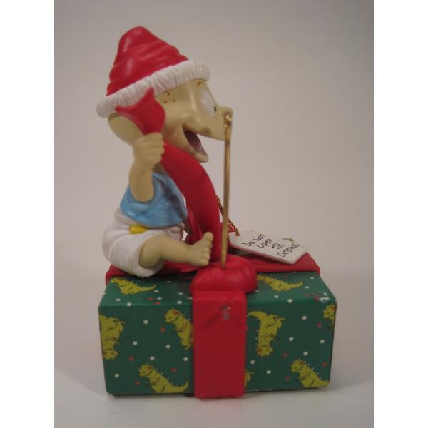 クリスマスオーナメント・ラグラッツ・トミーとプレゼント・1998年【画像6】
