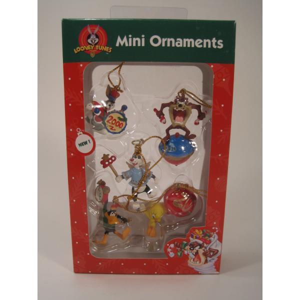 クリスマスオーナメント・ルーニーチューンズ・ミニオーナメント5個セット・オリジナルボックス付【画像2】