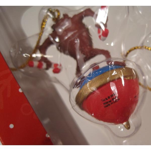 クリスマスオーナメント・ルーニーチューンズ・ミニオーナメント5個セット・オリジナルボックス付【画像11】