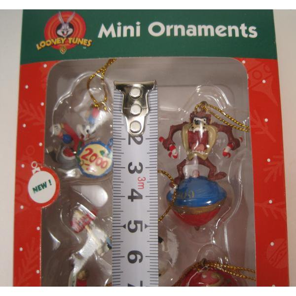 クリスマスオーナメント・ルーニーチューンズ・ミニオーナメント5個セット・オリジナルボックス付【画像12】