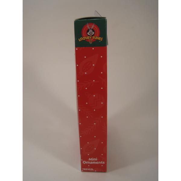 クリスマスオーナメント・ルーニーチューンズ・ミニオーナメント5個セット・オリジナルボックス付【画像3】