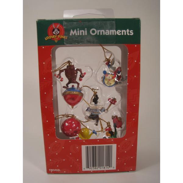 クリスマスオーナメント・ルーニーチューンズ・ミニオーナメント5個セット・オリジナルボックス付【画像4】