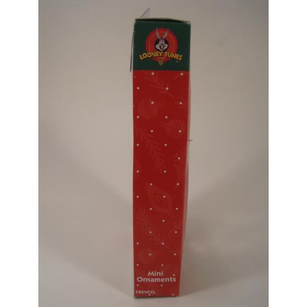 クリスマスオーナメント・ルーニーチューンズ・ミニオーナメント5個セット・オリジナルボックス付【画像5】