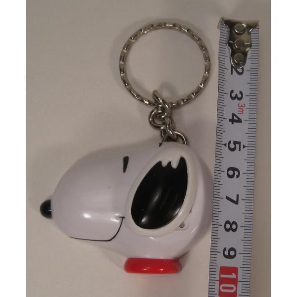 ヴィンテージ・スヌーピー50周年記念時計型・プラスチック製キーホルダー【画像10】