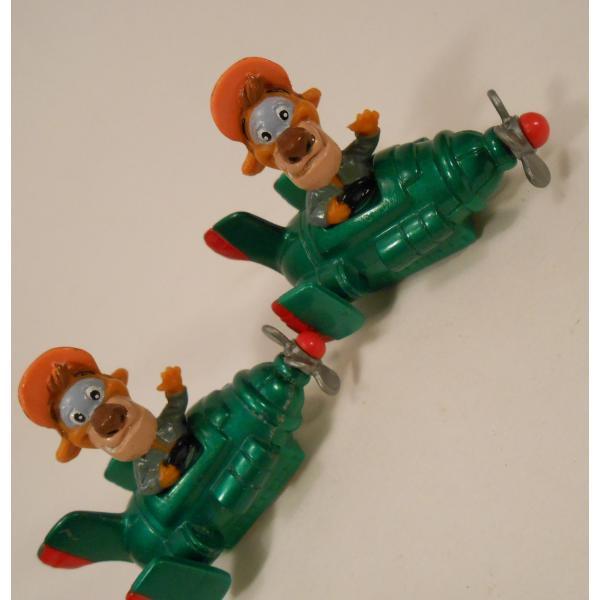ヴィンテージ・1990年・マクドナルドハッピーミール・テイルスピン・ダイキャスト製トイ・ワイルドキャット・フライングマシーン