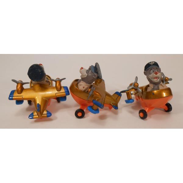 ヴィンテージ・1990年・マクドナルドハッピーミール・テイルスピン・ダイキャスト製トイ・Baloo's Seaplane【画像4】