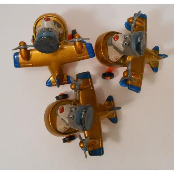 ヴィンテージ・1990年・マクドナルドハッピーミール・テイルスピン・ダイキャスト製トイ・Baloo's Seaplane【画像5】
