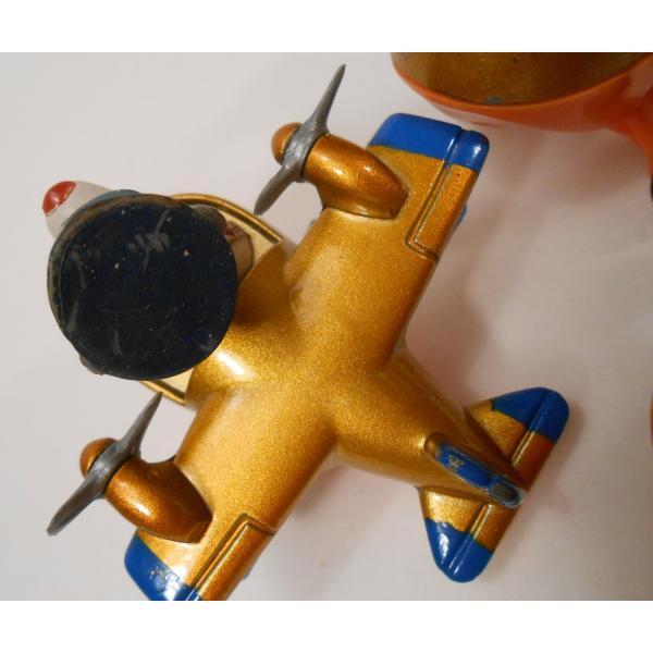 ヴィンテージ・1990年・マクドナルドハッピーミール・テイルスピン・ダイキャスト製トイ・Baloo's Seaplane【画像6】