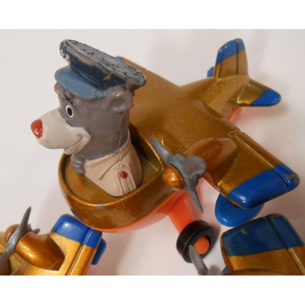 ヴィンテージ・1990年・マクドナルドハッピーミール・テイルスピン・ダイキャスト製トイ・Baloo's Seaplane【画像7】