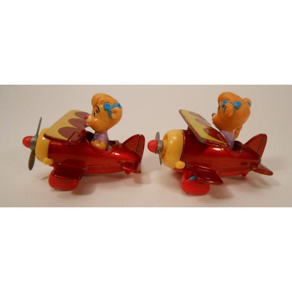 ヴィンテージ・1990年・マクドナルドハッピーミール・テイルスピン・ダイキャスト製トイ・Molly's Biplane【画像3】