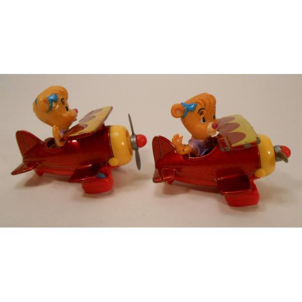 ヴィンテージ・1990年・マクドナルドハッピーミール・テイルスピン・ダイキャスト製トイ・Molly's Biplane【画像5】