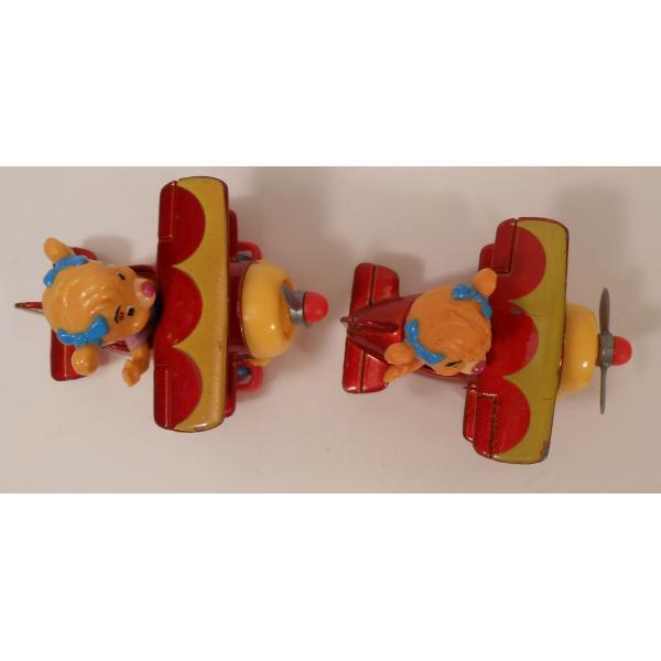 ヴィンテージ・1990年・マクドナルドハッピーミール・テイルスピン・ダイキャスト製トイ・Molly's Biplane【画像6】