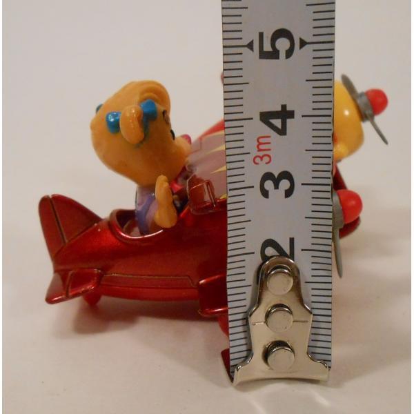 ヴィンテージ・1990年・マクドナルドハッピーミール・テイルスピン・ダイキャスト製トイ・Molly's Biplane【画像8】