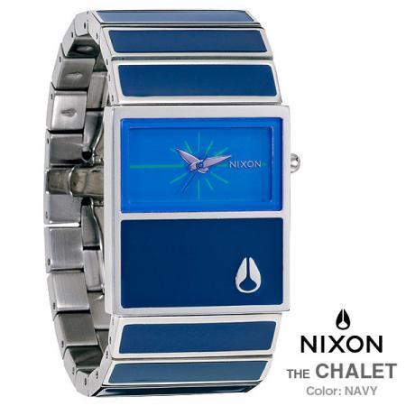 送料無料!【NIXON】ニクソン THE CHALET NAVY(A575-307)