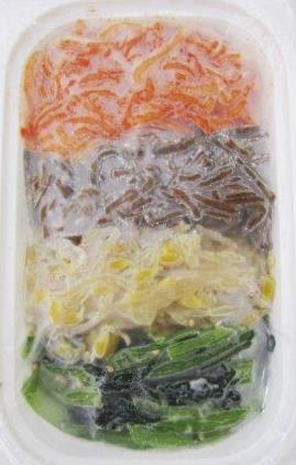 味付け4色ナムル(150g)[1個]