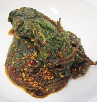 えごまの葉[醤油]味付け(150g)[1個]