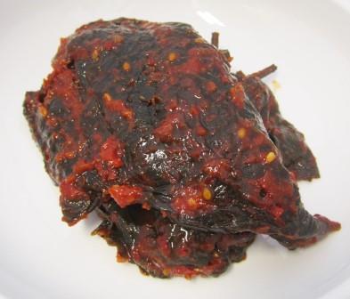 えごまの葉[味噌]味付け(150g)[1個]